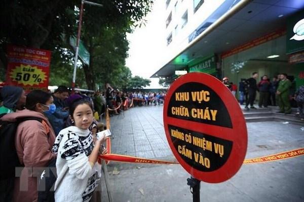 Vu chay tang 31 chung cu Linh Dam: Mot phu nu tu vong hinh anh 1