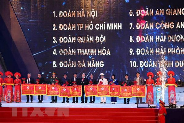 Dai hoi the thao toan quoc nam 2018: Be mac ngan gon day y nghia hinh anh 2