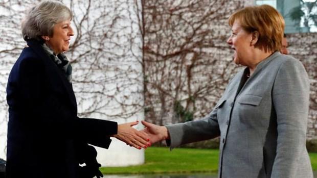 Thu tuong Duc Merkel: Kho co the thay doi thoa thuan Brexit hinh anh 1