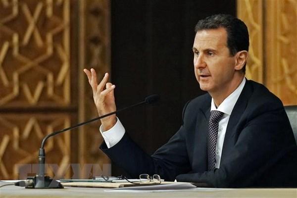 Syria va Iran thao luan thanh lap uy ban hien phap Syria hinh anh 1