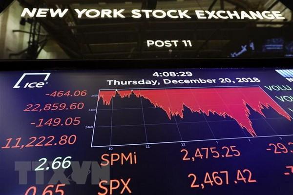 Chi so Dow Jones giam xuong muc thap nhat trong 15 thang qua hinh anh 1