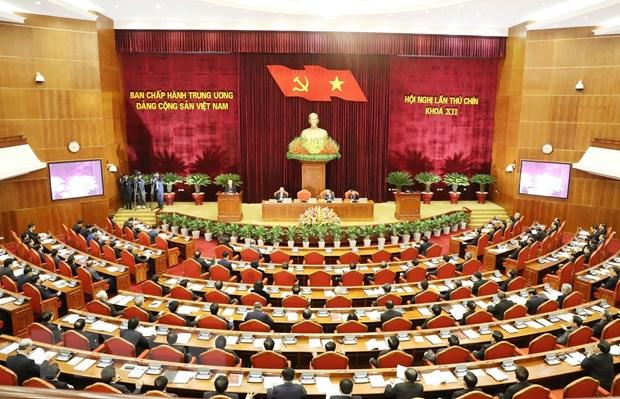 Khai mac Hoi nghi lan thu chin Ban Chap hanh Trung uong Dang khoa XII hinh anh 1