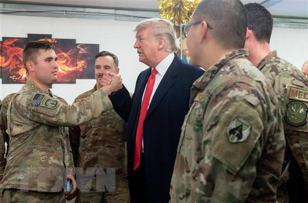 Ong Trump bat ngo tham Iraq, cuoc gap cap cao My-Iraq bi huy bo hinh anh 1