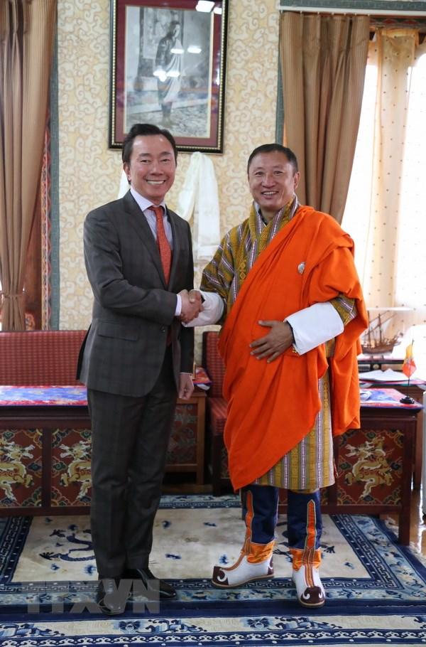 Thuc day quan he hop tac Viet Nam-Bhutan ngay cang thuc chat, hieu qua hinh anh 2