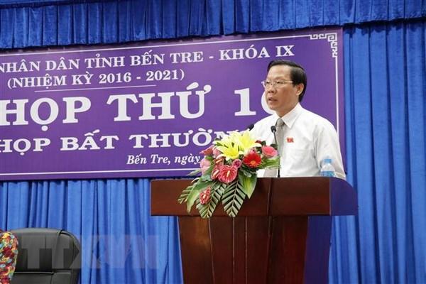 Ong Phan Van Mai duoc bau lam Chu tich Hoi dong Nhan dan tinh Ben Tre hinh anh 1