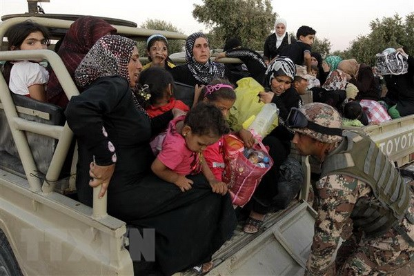 UNHCR: Hang nghin nguoi dan Syria co nguy co phai di lanh nan hinh anh 1