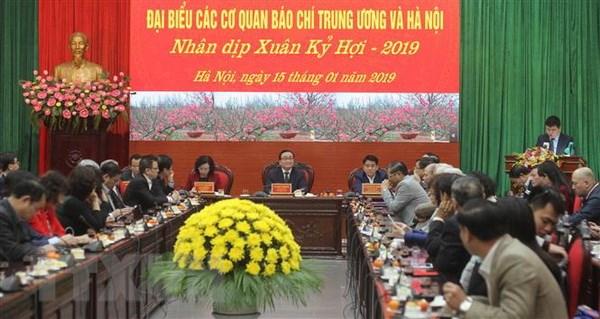 Bao chi dong hanh xay dung Thu do, xung dang niem tin yeu cua nhan dan hinh anh 1
