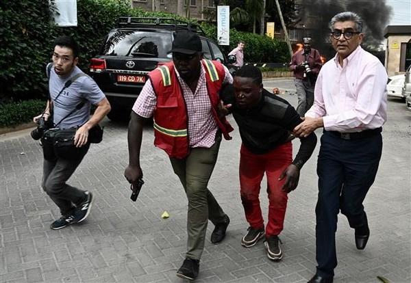 Kenya: No lon o khu to hop van phong-khach san o thu do Nairobi hinh anh 2