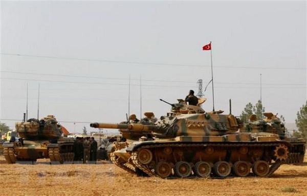 Nguoi Kurd o Syria phan doi vung an ninh do Tho Nhi Ky kiem soat hinh anh 1