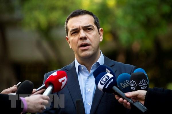Thu tuong Hy Lap Tsipras vuot qua cuoc bo phieu tin nhiem hinh anh 1