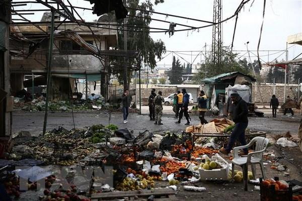 Syria: Hang chuc nguoi thuong vong trong vu no tai Afrin hinh anh 1