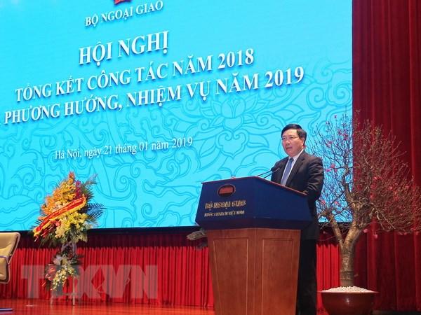Ngoai giao Viet Nam: Chu dong, sang tao, hoan thanh tot cac nhiem vu hinh anh 1