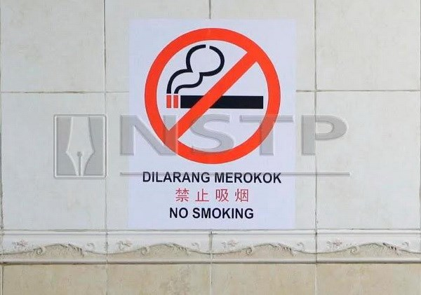 Mot phu nu Malaysia bi phat tu mot thang vi hut thuoc noi cong cong hinh anh 1