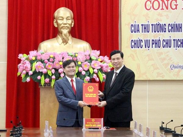 Thu tuong phe chuan ong Bui Van Khang lam Pho Chu tich tinh Quang Ninh hinh anh 1