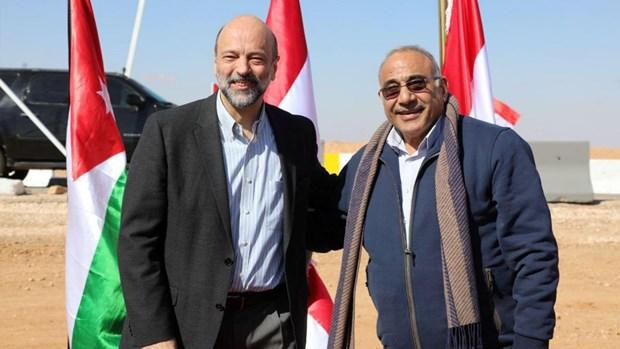 Iraq va Jordan mo cua lai cua khau, tang cuong quan he hinh anh 1