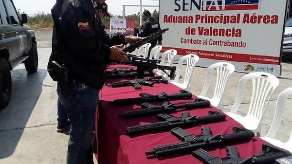 Venezuela thu giu mot lo vu khi lon co nguon goc tu My hinh anh 1