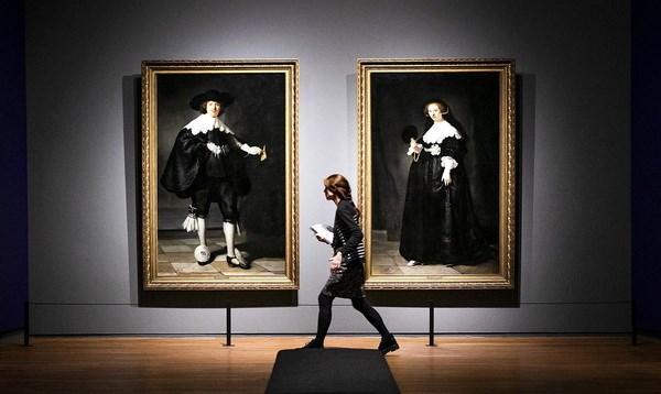 Ha Lan to chuc trien lam 400 tac pham cua danh hoa Rembrandt hinh anh 1