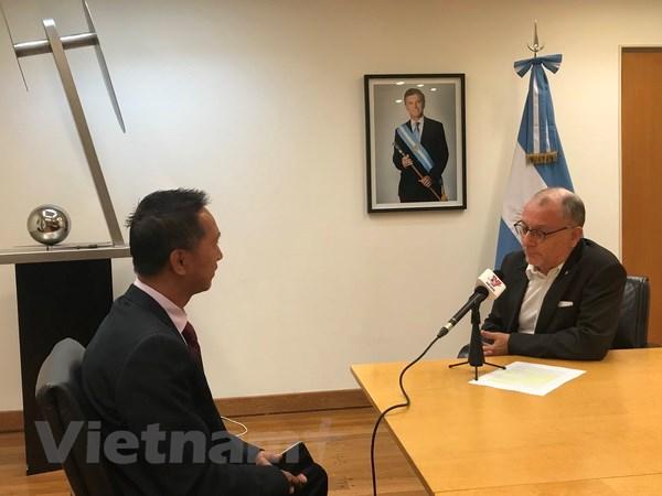 'Viet Nam co vai tro quan trong trong quan he quoc te cua Argentina' hinh anh 1