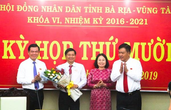 Bau bo sung Pho Chu tich Uy ban Nhan dan tinh Ba Ria-Vung Tau hinh anh 1