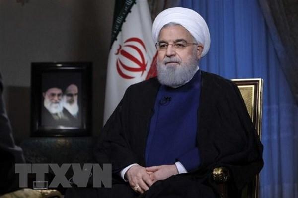 Tong thong Rouhani: Cang thang giua Iran-My dang o muc toi da hinh anh 1