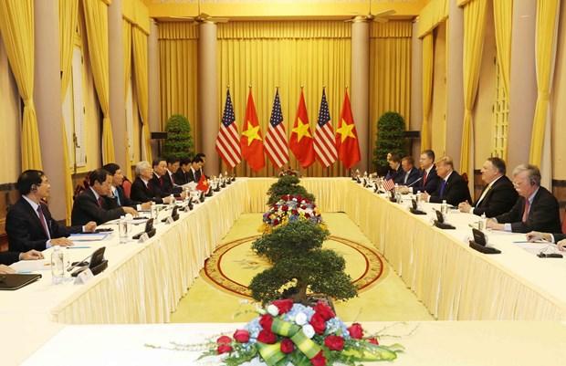 Lãnh đạo Việt Nam và Hoa Kỳ thảo luận về tình hình Biển Đông - 1