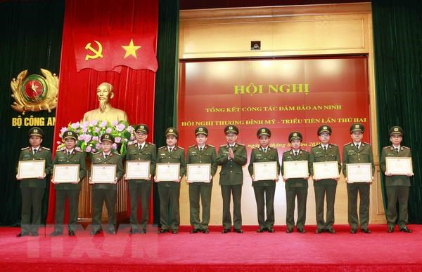Bo Cong an tong ket cong tac phuc vu Thuong dinh Hoa Ky-Trieu Tien hinh anh 2