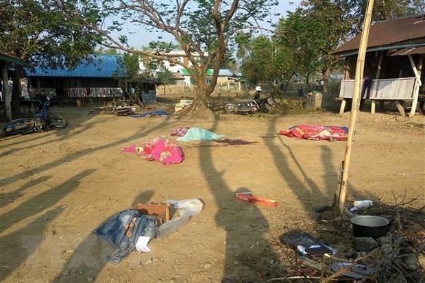 Myanmar: Tan cong nham vao canh sat bang Rakhine, 9 nguoi thiet mang hinh anh 1