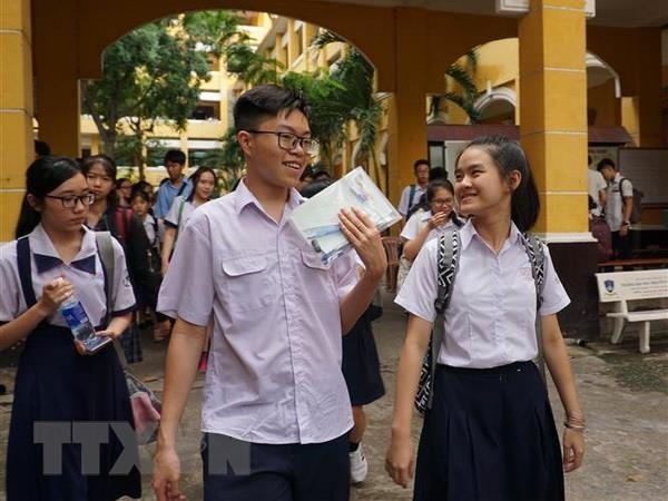 TP.Ho Chi Minh giam dan ty le tuyen sinh vao lop 10 cong lap hinh anh 1
