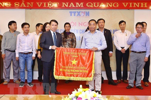 Thong tan xa Viet Nam phat dong phong trao thi dua nam 2019 hinh anh 1