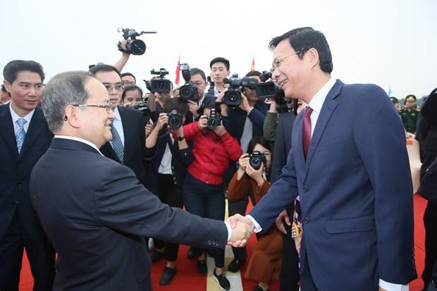 Quang Ninh to chuc le thong quan cau Bac Luan II hinh anh 1
