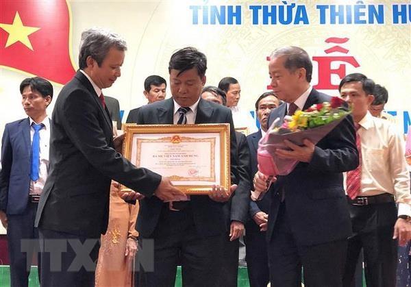 Thua Thien-Hue: Truy tang danh hieu Ba me Viet Nam Anh hung cho 73 me hinh anh 2