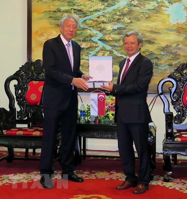 Pho Thu tuong Singapore Tieu Chi Hien tham tinh Thua Thien-Hue hinh anh 1