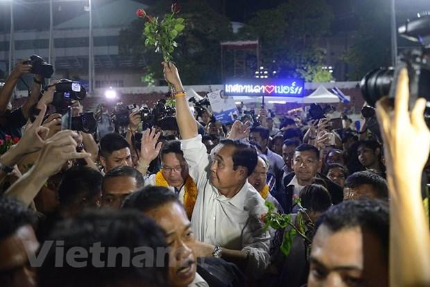 Cac dang o Thai Lan to chuc mitting lan cuoi truoc tong tuyen cu hinh anh 2