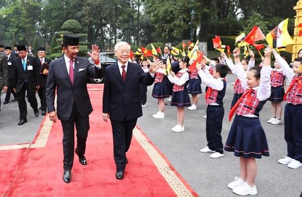 Tuyen bo chung ve thiet lap quan he Doi tac toan dien Viet Nam-Brunei hinh anh 1