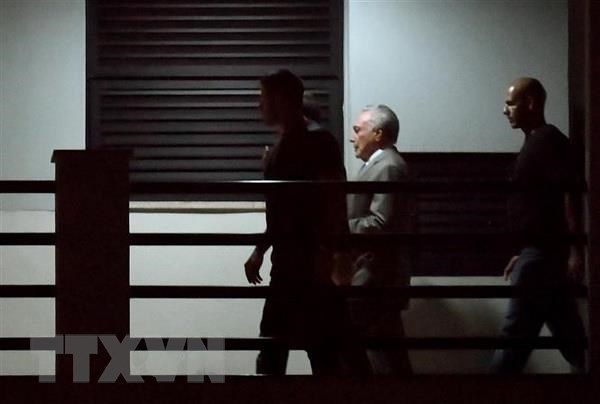 Cuu Tong thong Brazil Michel Temer lai bi tam giam hinh anh 1
