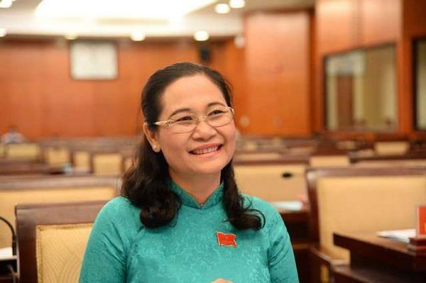 Ba Nguyen Thi Le duoc bau lam Chu tich Hoi dong Nhan dan TP.HCM hinh anh 1