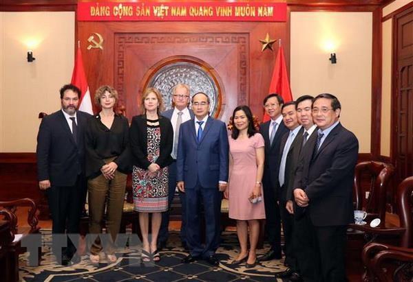 Ha Lan san sang day manh hop tac voi Thanh pho Ho Chi Minh hinh anh 1
