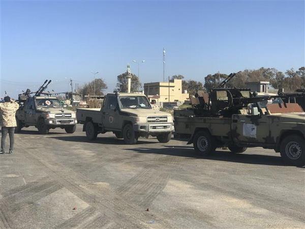 Libya: Luc luong trung thanh voi chinh phu tien hanh phan cong hinh anh 1
