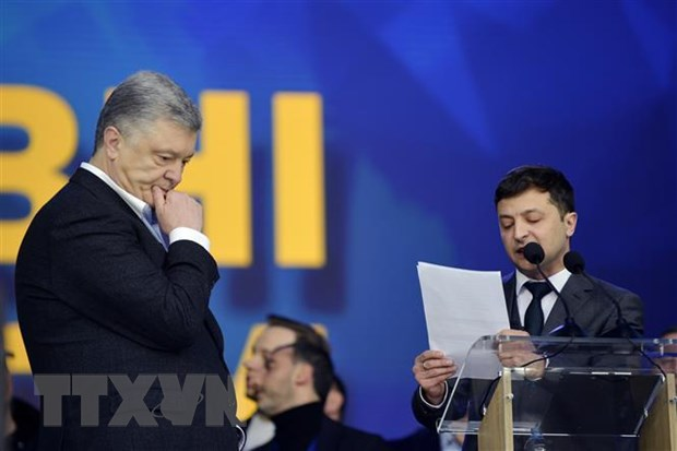 Bau cu tong thong Ukraine: Tong thong Poroshenko thua nhan that bai hinh anh 1