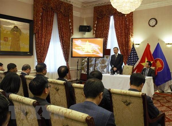 Bo truong To Lam tham Dai su quan Viet Nam tai Hoa Ky hinh anh 1
