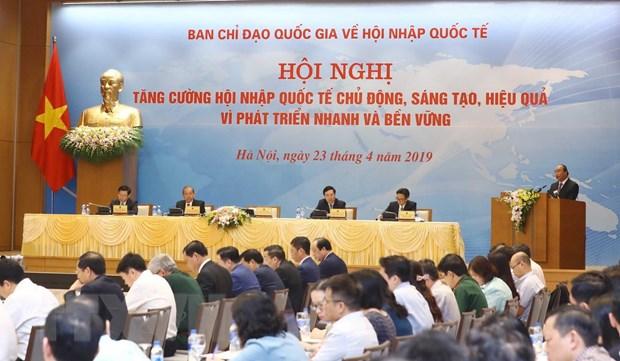 Thu tuong Nguyen Xuan Phuc: Hoi nhap quoc te la su nghiep cua toan dan hinh anh 2