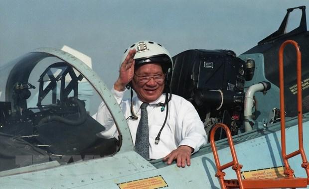 Dai tuong Le Duc Anh - Nguoi con uu tu cua que huong Thua Thien-Hue hinh anh 2