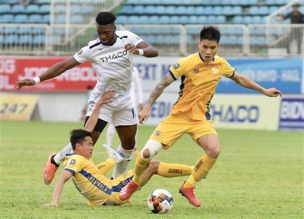 V-League 2019: Hoang Anh Gia Lai bi Thanh Hoa cam hoa 3-3 hinh anh 1