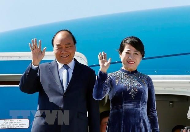 Thu tuong Nguyen Xuan Phuc len duong tham Nga, Na Uy va Thuy Dien hinh anh 1