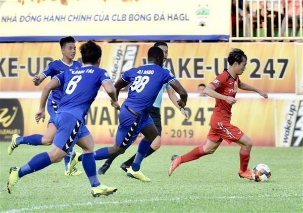 V-League 2019: Hoang Anh Gia Lai bi Becamex Binh Duong cam hoa hinh anh 2