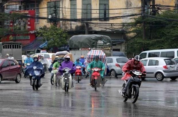 Bac Bo va cac tinh tu Thanh Hoa den Ha Tinh co mua dong dien rong hinh anh 1