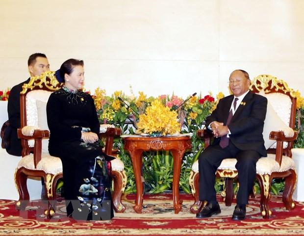 Chu tich Quoc hoi Vuong quoc Campuchia sap tham chinh thuc Viet Nam hinh anh 1