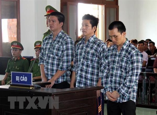 Ban an nghiem khac danh cho ba doi tuong cuop tiem vang tai Phu Yen hinh anh 1