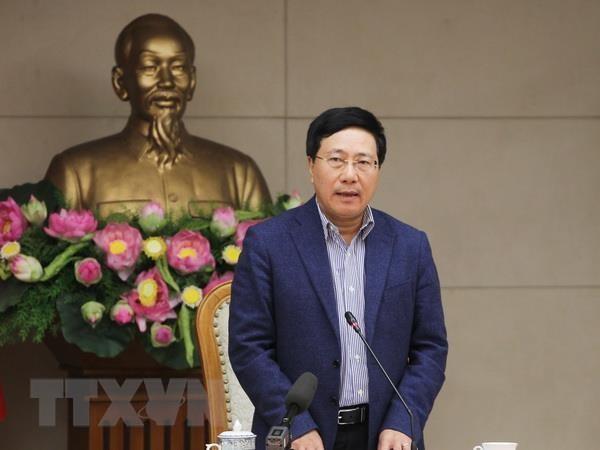 Sang 6/6, Pho Thu tuong Pham Binh Minh dang dan tra loi chat van hinh anh 1