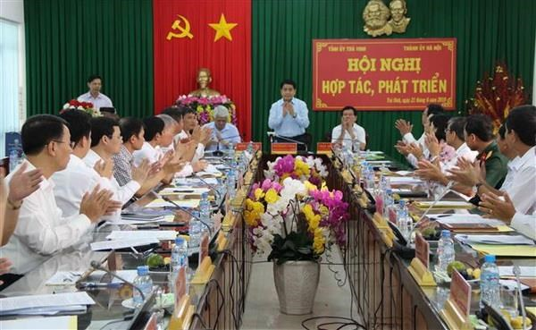 Tra Vinh va thu do Ha Noi xay dung chuong trinh hop tac phat trien hinh anh 1